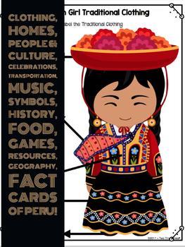 Peru ~ An Integrated Social Studies, Language Arts and Art Unit!