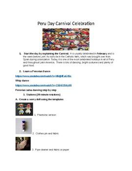 Peru Carnival Day