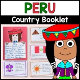 Peru Country Booklet - Peru Country Study - Interactive and Differentiated