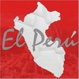 Peru Mini Poster or Scrapbook Page