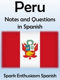 Peru Notes and Questions in Spanish