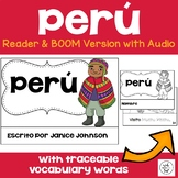 Perú {Peru} Reader {en español} & Vocab pages ~ Simplified for Language Learners