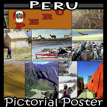 Peru  Photo Poster - Horizontal