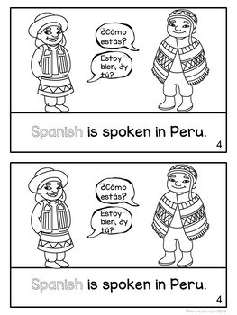 Peru Reader {English version} & Vocab pages ~ Simplified for Young Readers