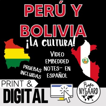 Perú y Bolivia Culture- video embedded notes (en español)