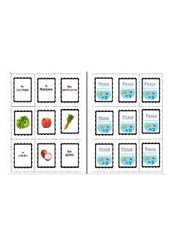 Pesca La Comida - Spanish Food Vocabulary Game