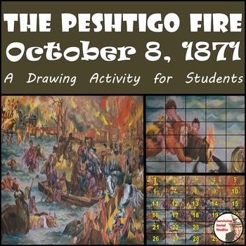 """Peshtigo Fire - Recreate """"The Peshtigo Fire"""" Painting"""