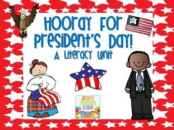 Pesident's Day Literacy Unit