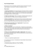 Pesos Participation System