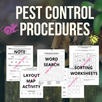 Pest Control Procedures (Family and Consumer Science, FACS, FCS)