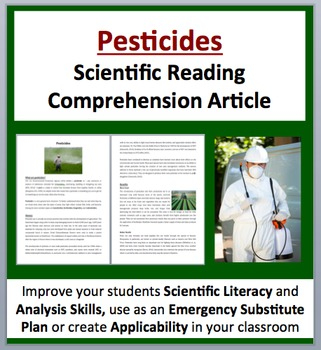 Pesticides - Science Reading Article