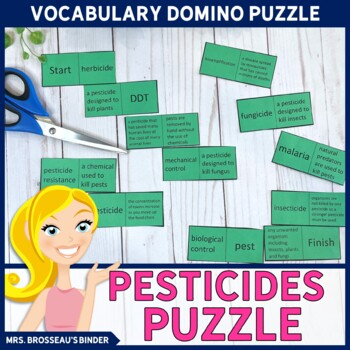 Pesticides Terms Domino Puzzle