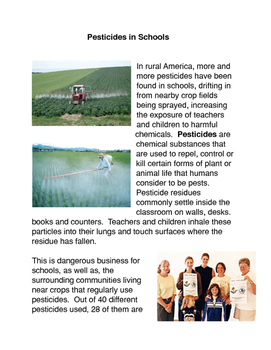 Pesticides in Schools