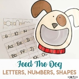 Pet Activity for Preschoolers - Feed the Dog