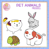 Pet Animals Clip Art Freebies