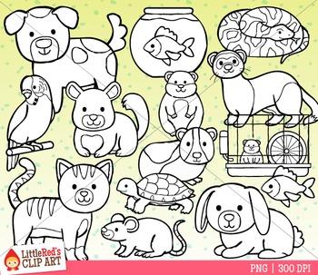 Pet Animals Clipart