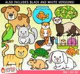 Pet Animals Clipart