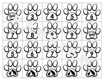 Pet Babies Multiplication: 2-9 Facts