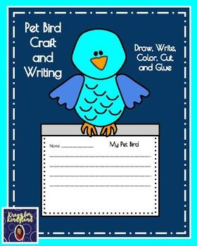 Pet Bird Craft and Writing (Animal Research)