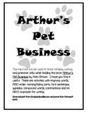Pet Business for Common Core Mini-Unit
