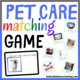 Pet Care Match Up Game
