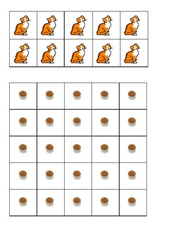 Pet Cat Ten Frames Games