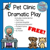 Pet Clinic Dramatic Play
