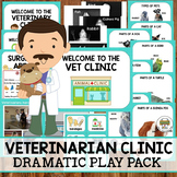 Pet Clinic/Veterinarian Dramatic Play Props Pack