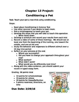 Pet Conditioning