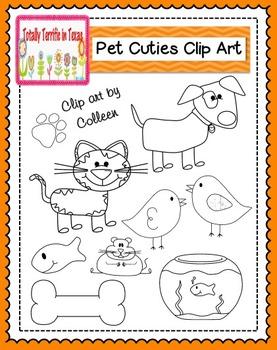 Pet Cuties Clip Art