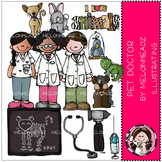 Pet Doctor clip art - veterinarian - by Melonheadz