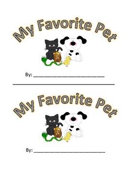 Pet Emergent Reader