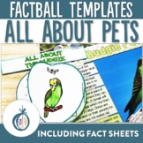 Pet Factballs and Fact Sheets