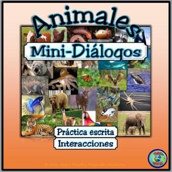 Pet & Farm Animal Mini-Dialogues - Diálogos de mascotas y animales de la granja