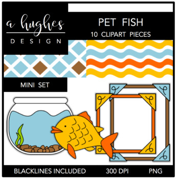 Pet Fish Mini Set {Graphics for Commercial Use}
