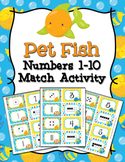 Pet Fish Numbers 1-10 Match Activity