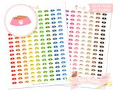Pet Food Bowl Printable Planner Stickers