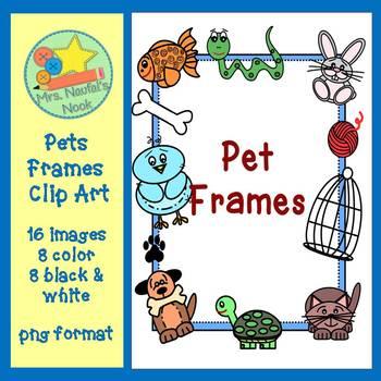 Pet Frames Clip Art