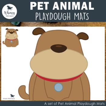 Pet Friends Playdough Mats