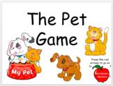 Pet Game - PreK Skills