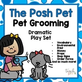 Pet Grooming Dramatic Play Set