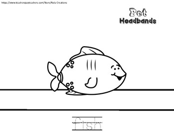 Pet Headbands- Traceable and No Prep!