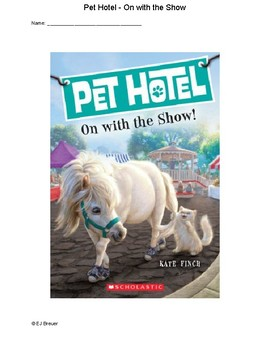 Pet Hotel - On with the Show by Kate Finch