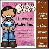Pet Literacy Work Station Activities