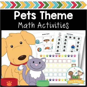Pet Math Activities