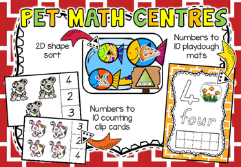 Pet Math Centres!