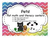 Pet Math & Literacy Pack
