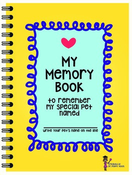 Pet Memory Book