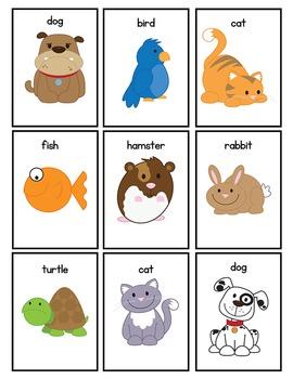 Pet Memory Game