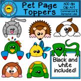 Pet Page Topper Clip Art